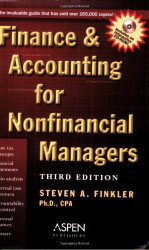 Finance And Accounting For Nonfinancial Managers