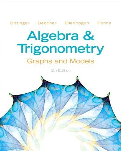 Algebra And Trigonometry