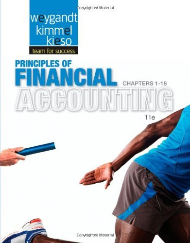Principles Of Financial Accounting Chapters 1-18