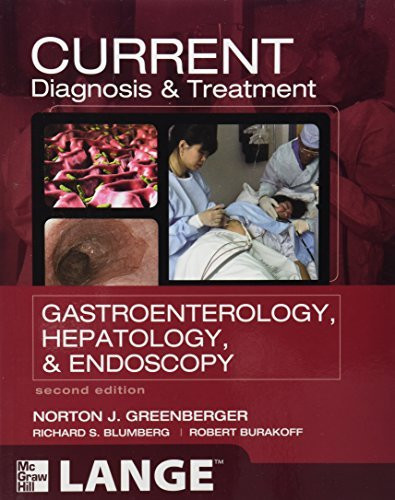 Current Diagnosis And Treatment Gastroenterology