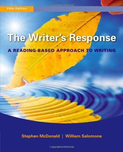 Writer's Response