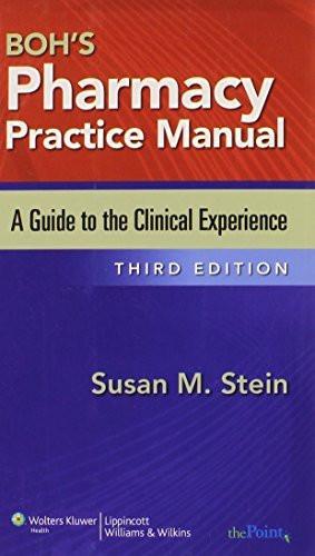 Boh's Pharmacy Practice Manual