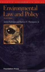 Environmental Law And Policy