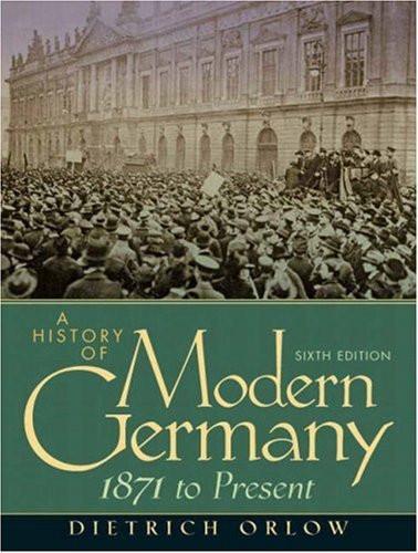 History Of Modern Germany