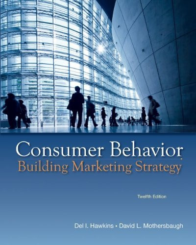 Consumer Behavior Building Marketing Strategy
