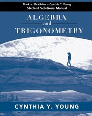 Algebra And Trigonometry Student Solutions Manual
