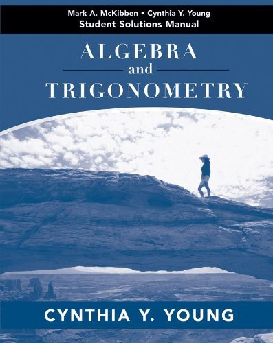 Algebra And Trigonometry Student Solutions Manual