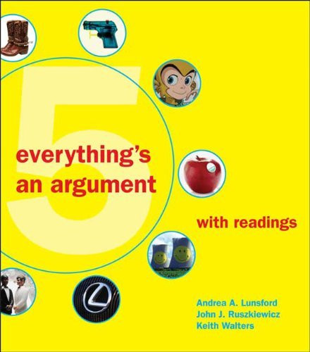 Everything's An Argument With Readings