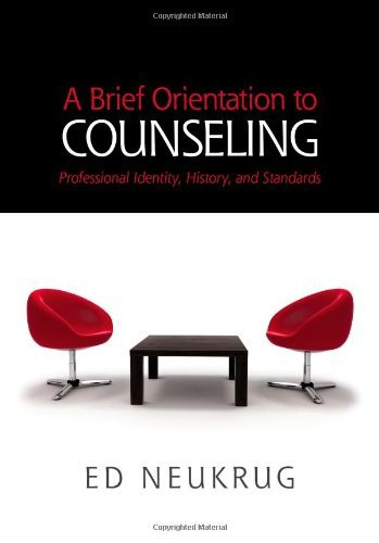 Brief Orientation To Counseling