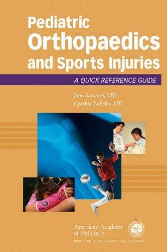 Pediatric Orthopaedics And Sport Injuries