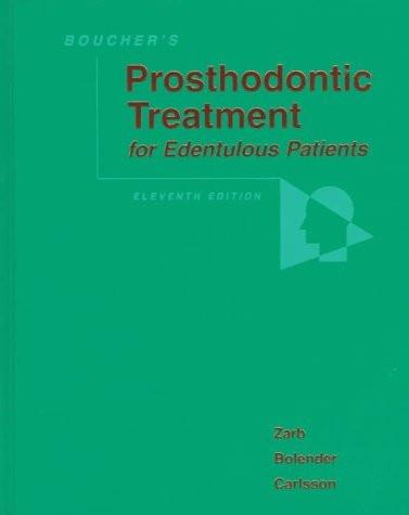 Prosthodontic Treatment For Edentulous Patients