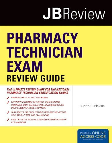 Pharmacy Technician Exam Review Guide And Navigate Testprep