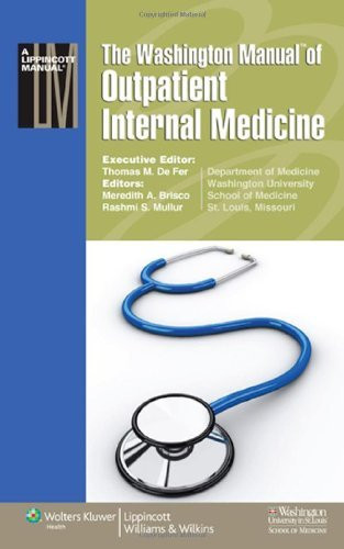 Washington Manual Of Outpatient Internal Medicine
