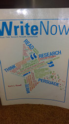 Write Now by Russell Karin