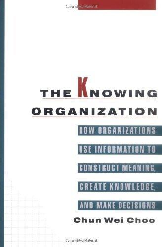 Knowing Organization