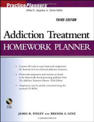 Addiction Treatment Homework Planner