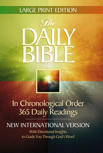 Daily Bible Large Print Edition