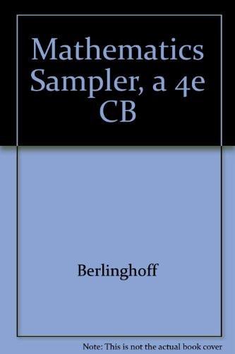 Mathematics Sampler