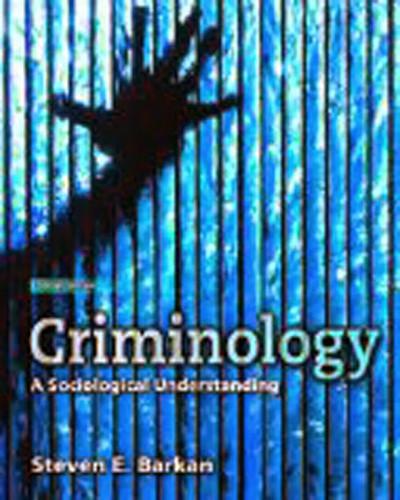 Criminology A Sociological Understanding
