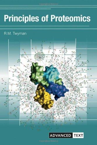 Principles Of Proteomics