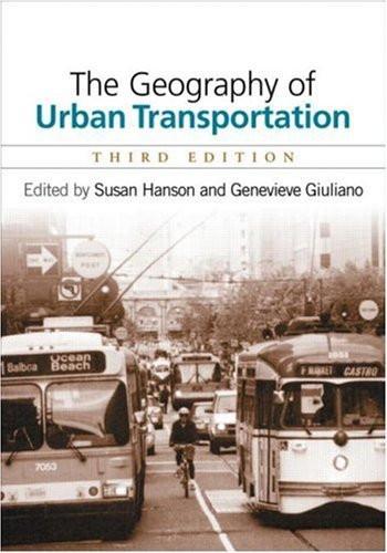 Geography Of Urban Transportation