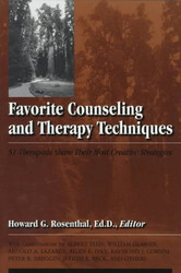 Favorite Counseling And Therapy Techniques