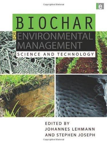 Biochar For Environmental Management