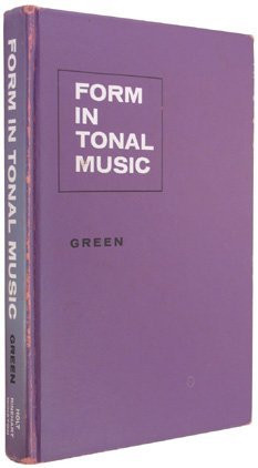 Form In Tonal Music An Introduction To Analysis