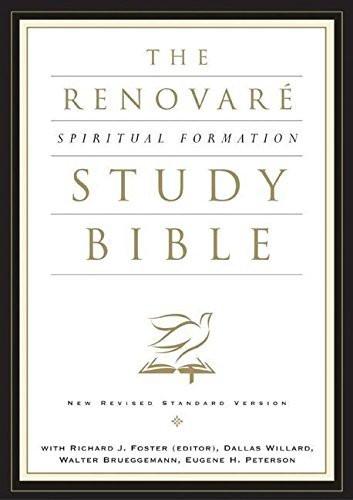 Nrsv Renovar?? Spiritual Formation Bible