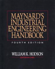 Maynard's Industrial Engineering Handbook
