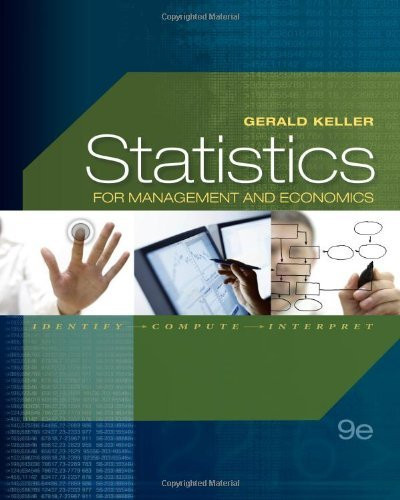 Statistics For Management And Economics