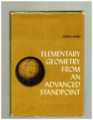 Elementary Geometry From An Advanced Standpoint