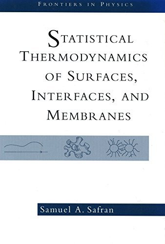Statistical Thermodynamics Of Surfaces Interfaces And Membranes