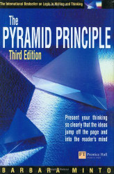 Pyramid Principle Present Your Thinking So Clearly That The Ideas Jump Off