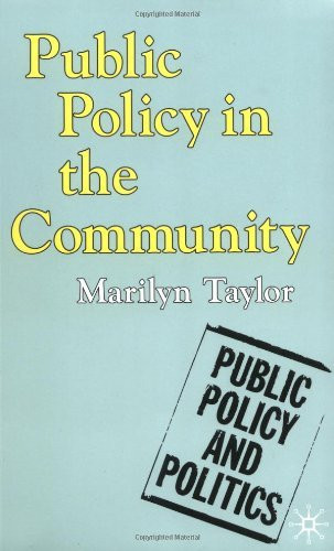 Public Policy In The Community