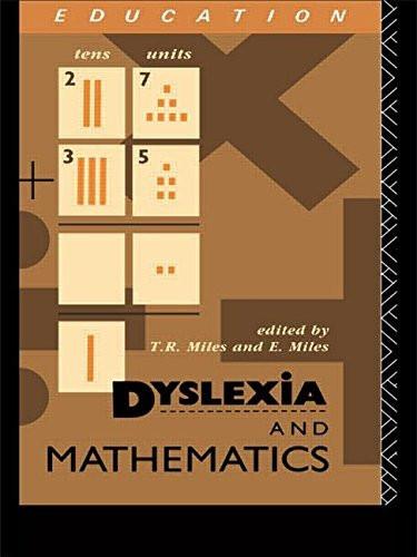 Dyslexia And Mathematics