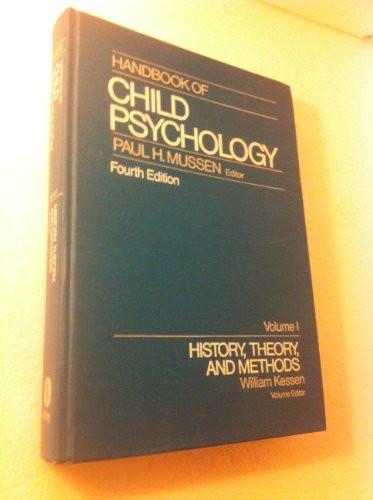 Handbook Of Child Psychology Volume 1