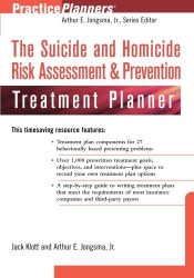 Suicide And Homicide Risk Assessment And Prevention Treatment Planner With