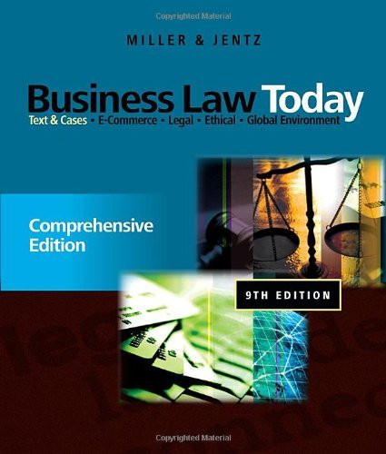 Business Law Today Comprehensive
