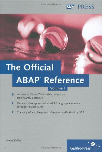 Official Abap Reference