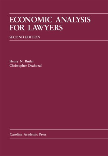 Economic Analysis For Lawyers