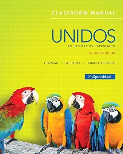 Unidos Classroom Manual