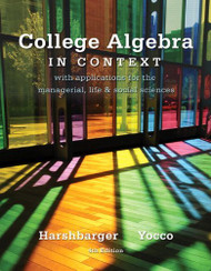 College Algebra in Context -- Access Card
