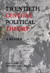 Twentieth Century Political Theory