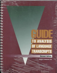 Guide to Analysis of Language Transcripts