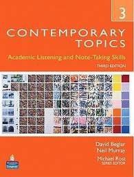 Contemporary Topics 3