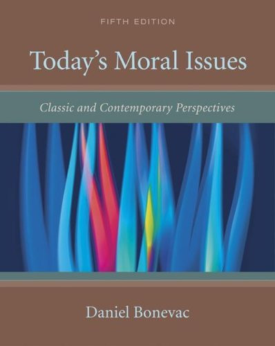 Today's Moral Issues