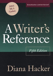 Writer's Reference