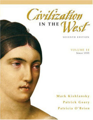 Civilization In The West Volume 2 Since 1555