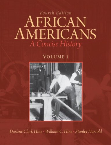 African Americans Volume 1